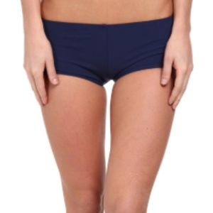 • sperry navy surf shorts •